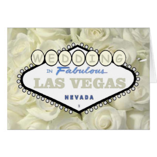 Mini Baby Breath Roses WEDDING in Las Vegas Card