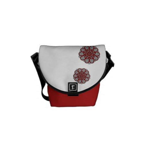 Mini bag Messenger Flowers Zen Messenger Bags