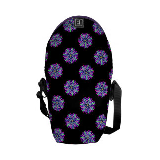 Mini bag messenger mosaic psychedelic n°3