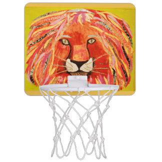 Mini Basketball Goal Hoop with Bold Lion Mini Basketball Hoops