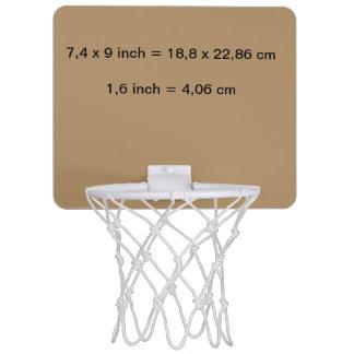 Mini Basketball Goal uni Gold Mini Basketball Hoop