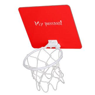Mini Basketball Goal uni Red Mini Basketball Backboards