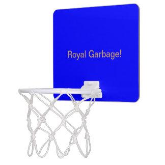 Mini Basketball Goal uni Royal Blue Mini Basketball Hoop