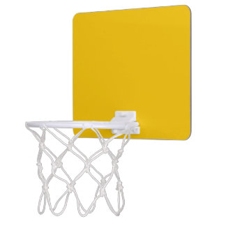 Mini Basketball Goal uni Yellow Mini Basketball Backboard