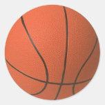 Mini Basketball Stickers