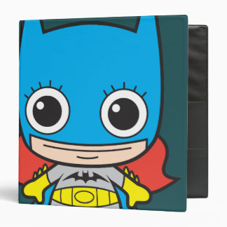 Mini Batgirl 3 Ring Binder