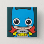 Mini Batgirl Button