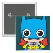 batman, cat woman, superman, wonder woman, batgirl, flash, dc comics, justice league, chibi super heroes, japanese toy cartoon, Button with custom graphic design