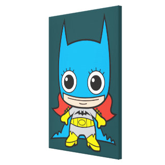 Mini Batgirl Canvas Print