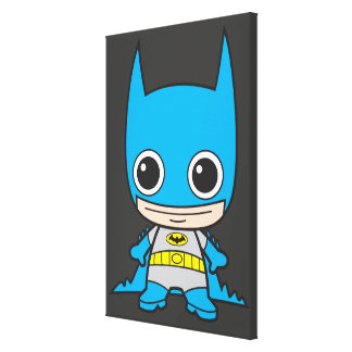 Mini Batman Canvas Print