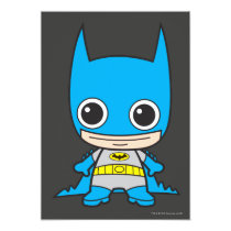 batman, superman, wonder woman, flash, chibi super heroes, japanese toy cartoon, kids, party, birthday, invitations, cat woman, batgirl, dc comics, justice league, Convite com design gráfico personalizado