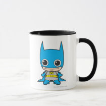 batman, cat woman, superman, wonder woman, batgirl, flash, dc comics, justice league, chibi super heroes, japanese toy cartoon, Mug with custom graphic design