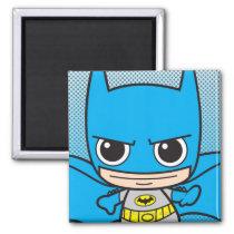 justice leauge, super hero, batman, robin, superman, cyborg, joker, chibi, japanese, toy, dc comics, comic book, Ímã com design gráfico personalizado