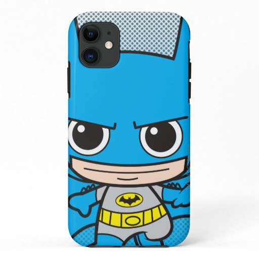 Mini Batman Running iPhone 11 Case
