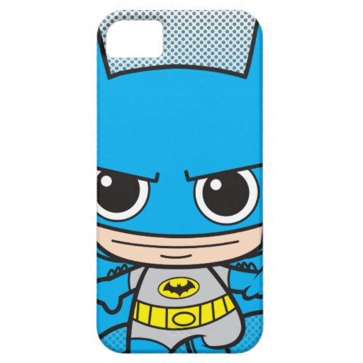 Mini Batman Running iPhone SE/5/5s Case