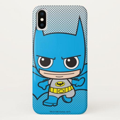 Mini Batman Running iPhone X Case