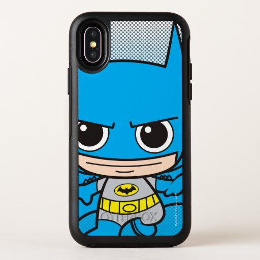 Mini Batman Running OtterBox Symmetry iPhone X Case