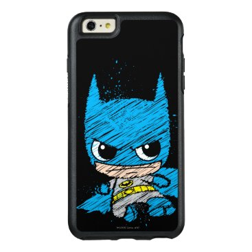 Mini Batman Sketch OtterBox iPhone 6/6s Plus Case