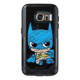 Mini Batman Sketch OtterBox Samsung Galaxy S7 Case