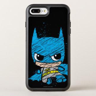 Mini Batman Sketch OtterBox Symmetry iPhone 8 Plus/7 Plus Case