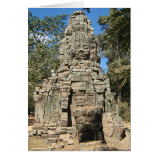 Mini Bayon ... Ta Prohm, Angkor Wat, Cambodia Card