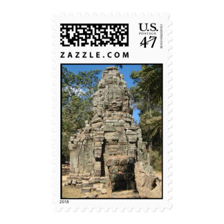 Mini Bayon ... Ta Prohm, Angkor Wat, Cambodia Postage
