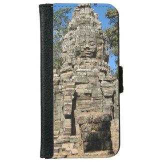 Mini Bayon ... Ta Prohm, Siem Reap, Cambodia iPhone 6/6s Wallet Case
