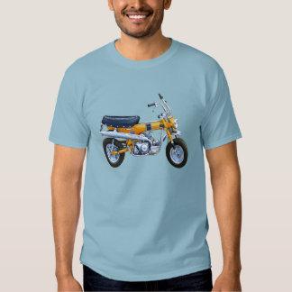 Mini bici 70 del vintage remera