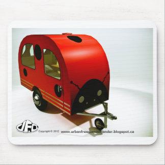 Mini Bike Camper Ladybug style Mousepad
