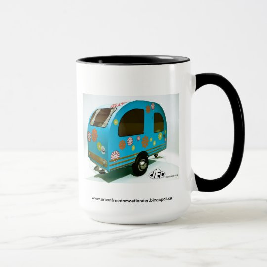 Mini Bike Camper Mug