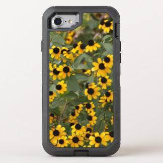 Mini Black Eyed Susan Flowers OtterBox Defender iPhone 8/7 Case