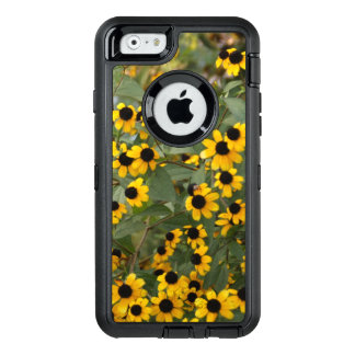 Mini Black Eyed Susan Flowers OtterBox Defender iPhone Case