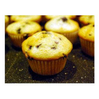 mini blueberry muffins postcards
