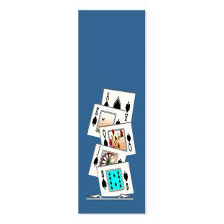 Mini Bookmarks Business Card Template