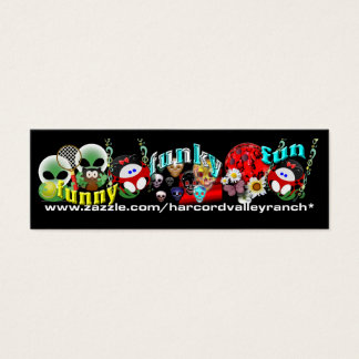 Mini Bookmarks Mini Business Card