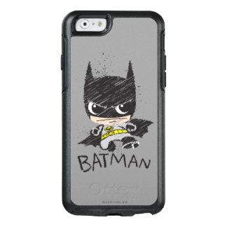 Mini bosquejo clásico de Batman Funda Otterbox Para iPhone 6/6s