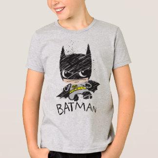 Mini bosquejo clásico de Batman Playera