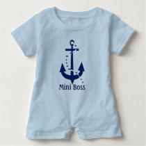 Mini Boss Baby Romper