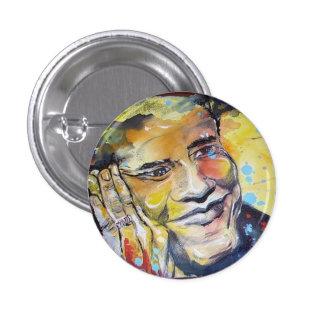 Mini botón de Barack Obama Pin Redondo De 1 Pulgada