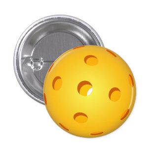Mini botón de Pickleball Pin Redondo De 1 Pulgada