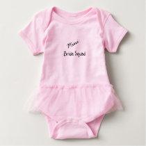 Mini Bride Squad Baby Bodysuit