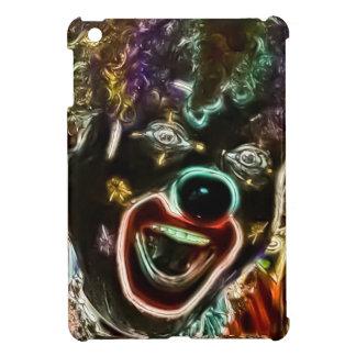 Mini brillante del iPad enojado del payaso