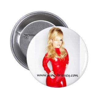 Mini-Britney instinto Pin Redondo De 2 Pulgadas