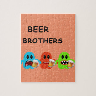 Mini Brothers Beer Bar by Mini Brothers Jigsaw Puzzle