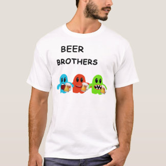 Mini Brothers Beer Bar by Mini Brothers T-Shirt