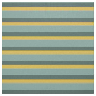 Mini Bus Blues Small Palette Stripes Fabric