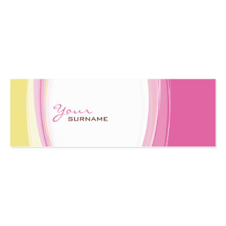 MINI BUSINESS CARD :: curves 5