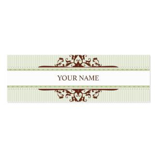 MINI BUSINESS CARD :: divine 3