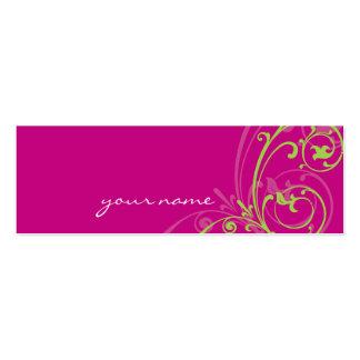 MINI BUSINESS CARD :: fabulously 1
