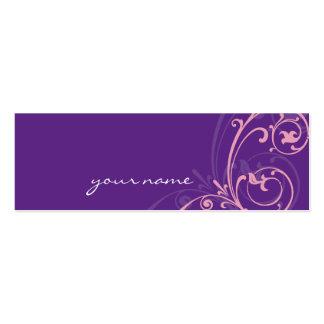 MINI BUSINESS CARD :: fabulously 2